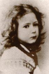 Margaret at four years of age